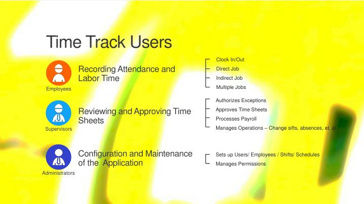 Time Track Users