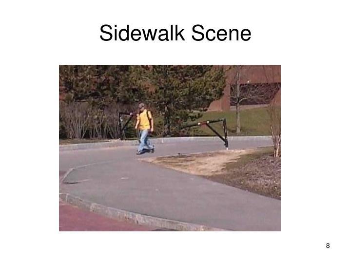 Sidewalk Scene