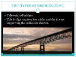 five types of bridges cont3