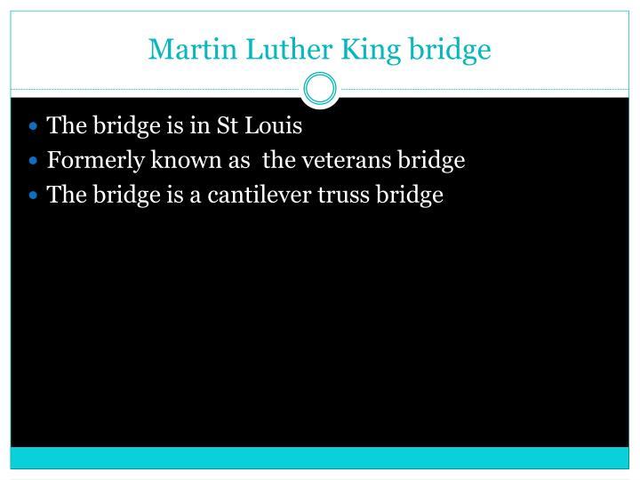 Martin Luther King bridge