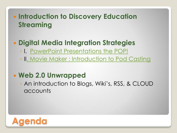 Introduction to Discovery Education Streaming
