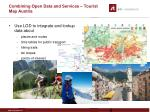 combining open data and services tourist map austria