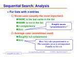 sequential search analysis1
