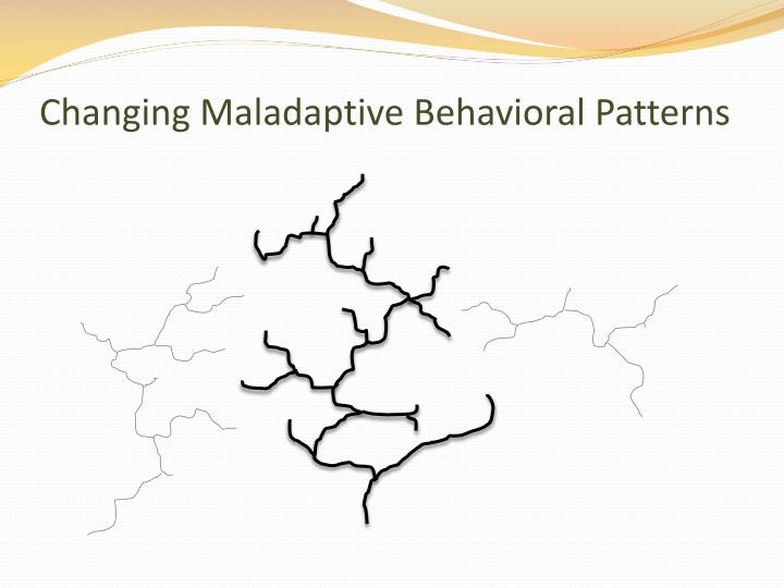 Changing Maladaptive Behavioral Patterns