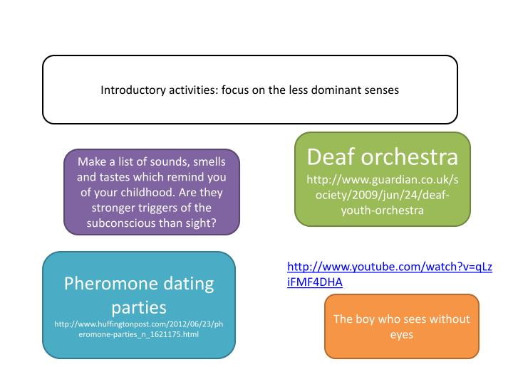 Introductory activities: focus on the less dominant senses