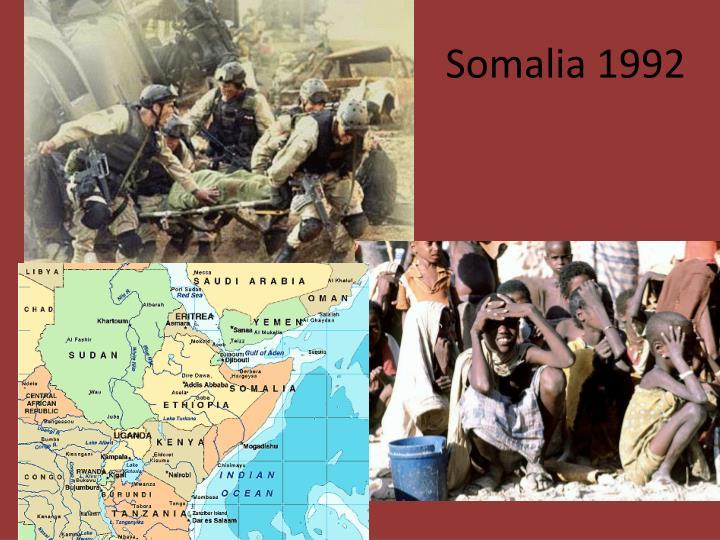 S                           Somalia 1992