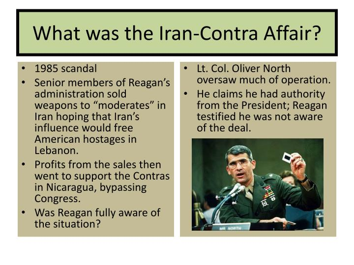 What was the Iran-Contra Affair?