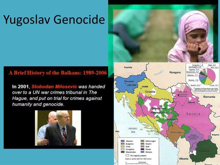 Yugoslav Genocide  ……………………