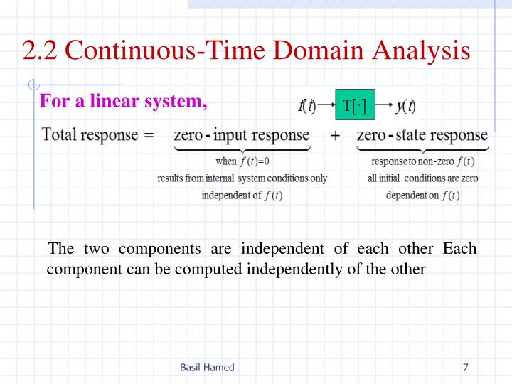 2.2 Continuous-Time