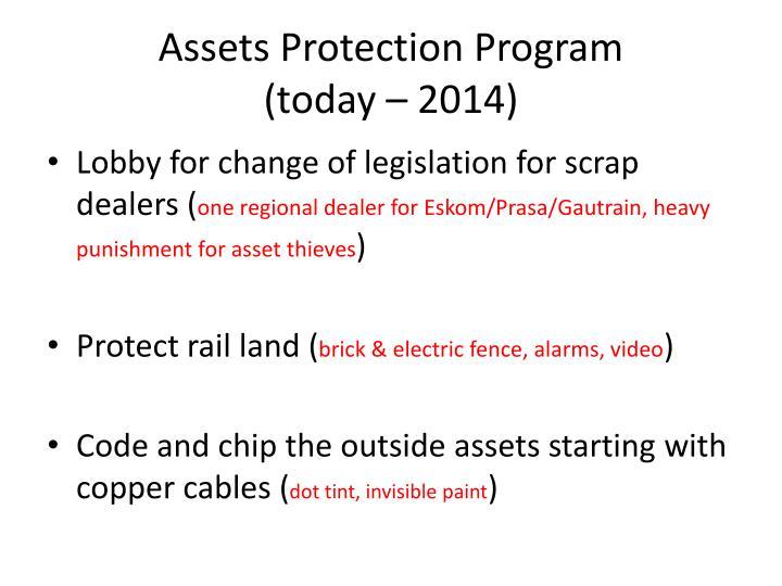 Assets Protection Program