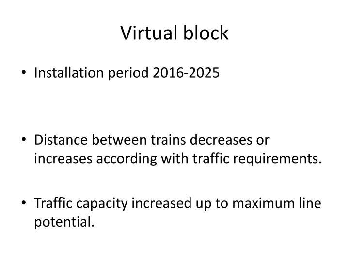 Virtual block