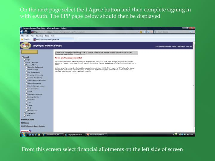 On the next page select the I Agree button and then complete signing in