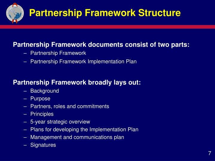 Partnership Framework Structure