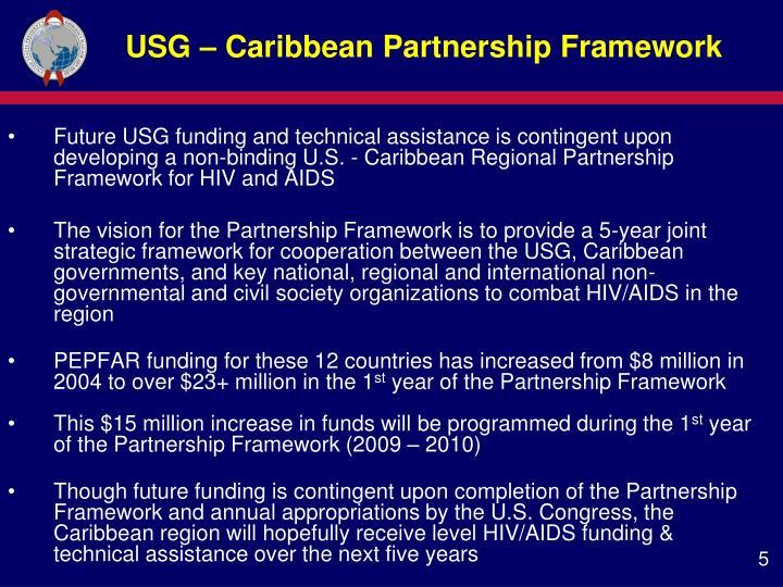 USG – Caribbean Partnership Framework