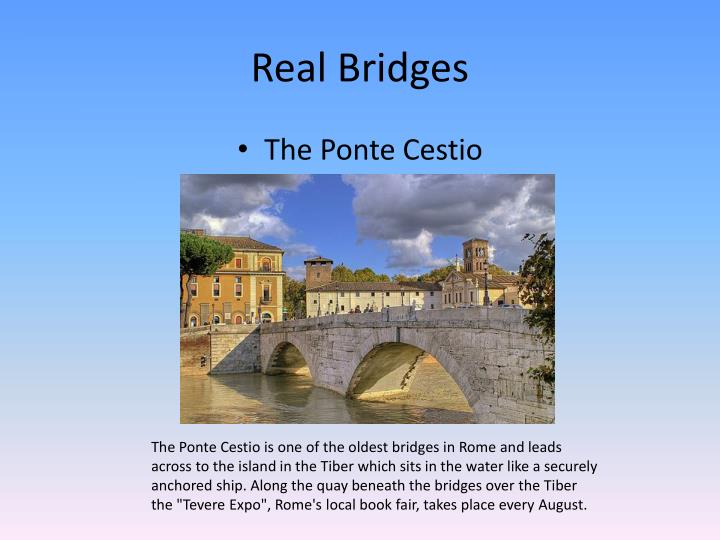 Real Bridges