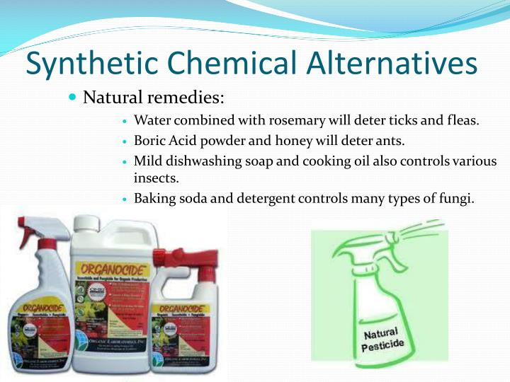 Synthetic Chemical Alternatives