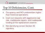 top 10 deficiencies cont1