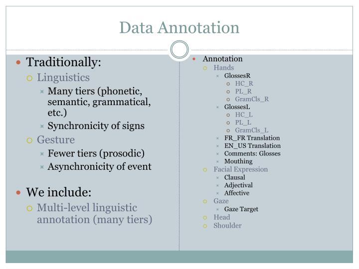Data Annotation