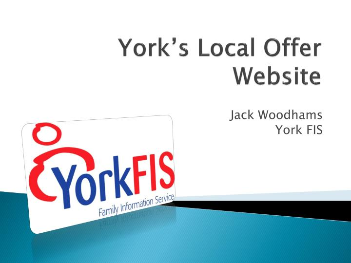 York's Local Offer