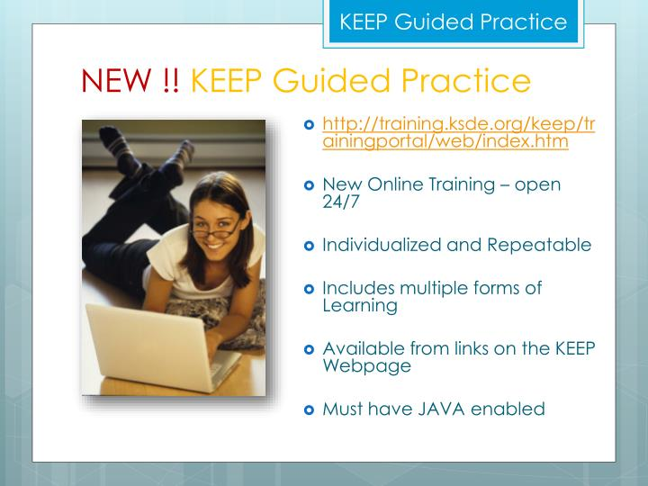 KEEP Guided Practice
