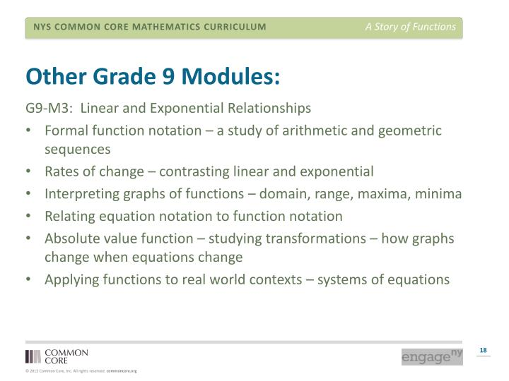 Other Grade 9 Modules: