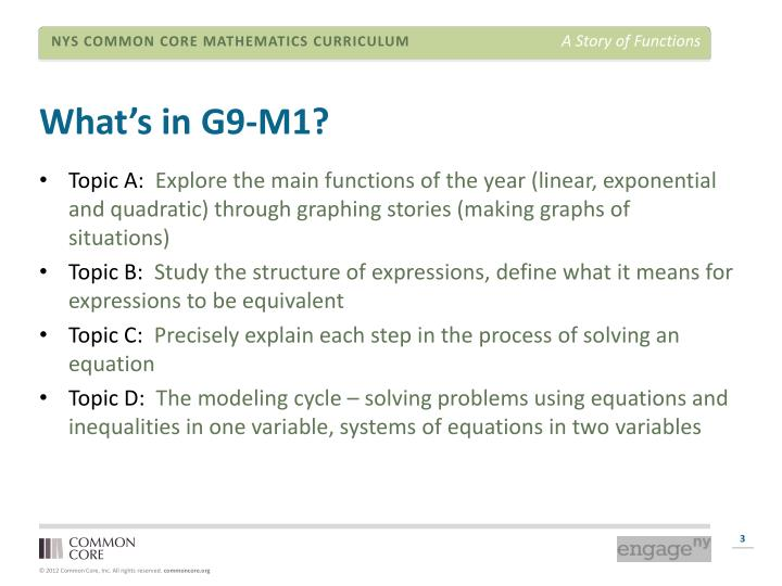 What s in g9 m1