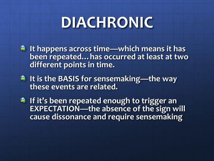 DIACHRONIC
