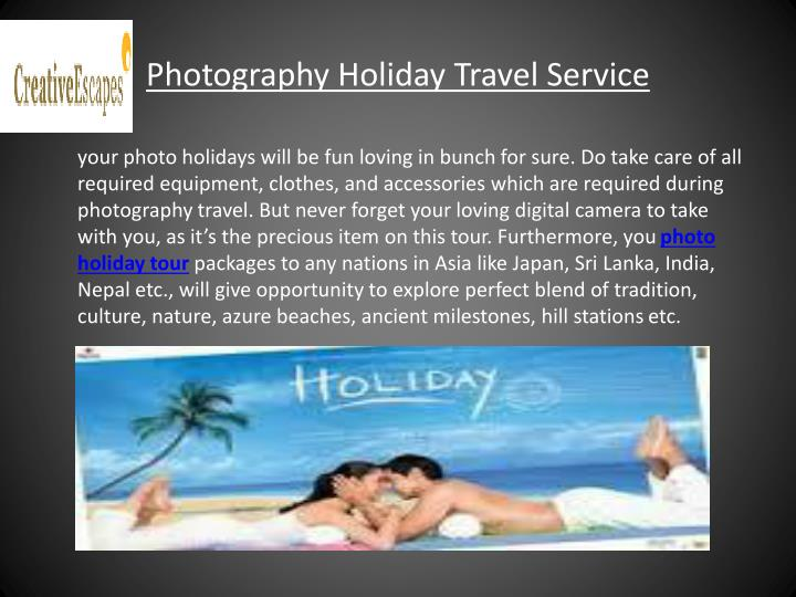 Photography Holiday