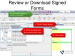 review or download signed forms
