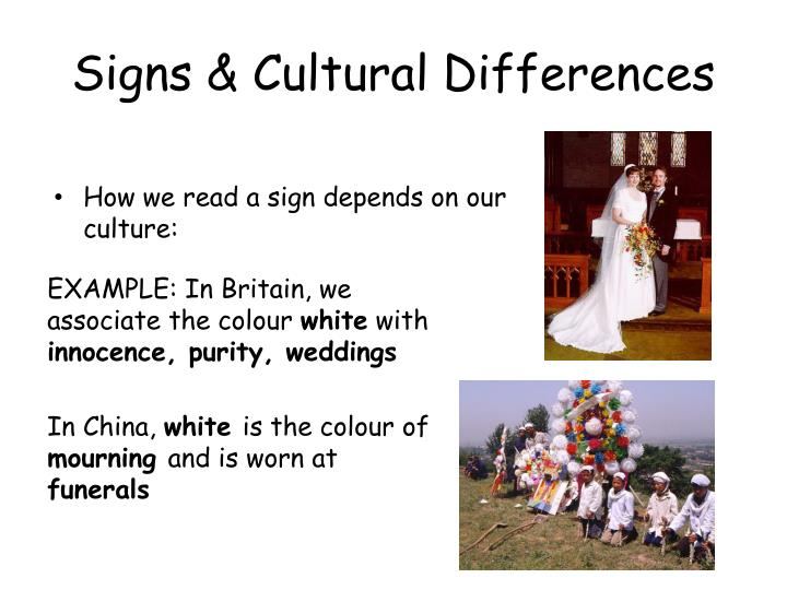 Signs & Cultural Differences