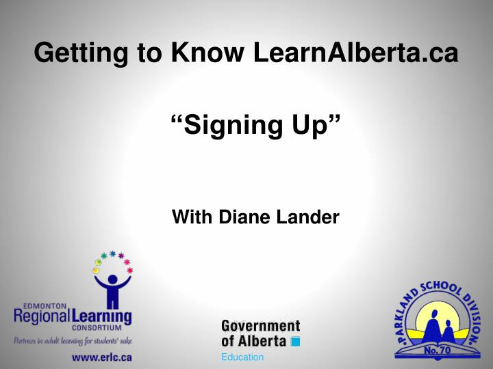 Getting to Know LearnAlberta.ca