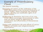example of preambulatory clause