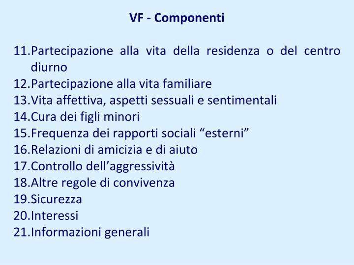 VF - Componenti