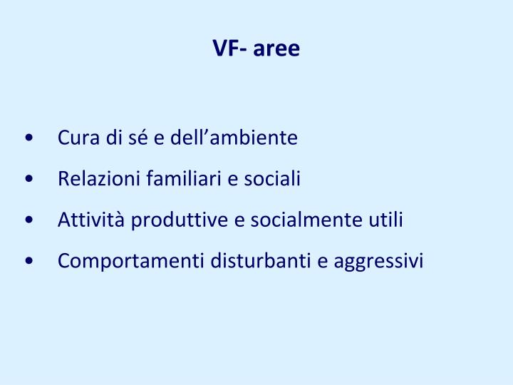 VF- aree