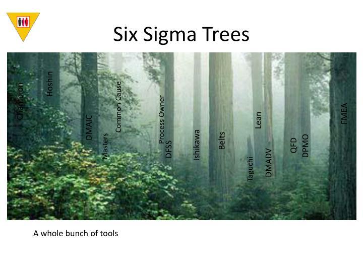 Six Sigma Trees