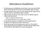 attendance guidelines2