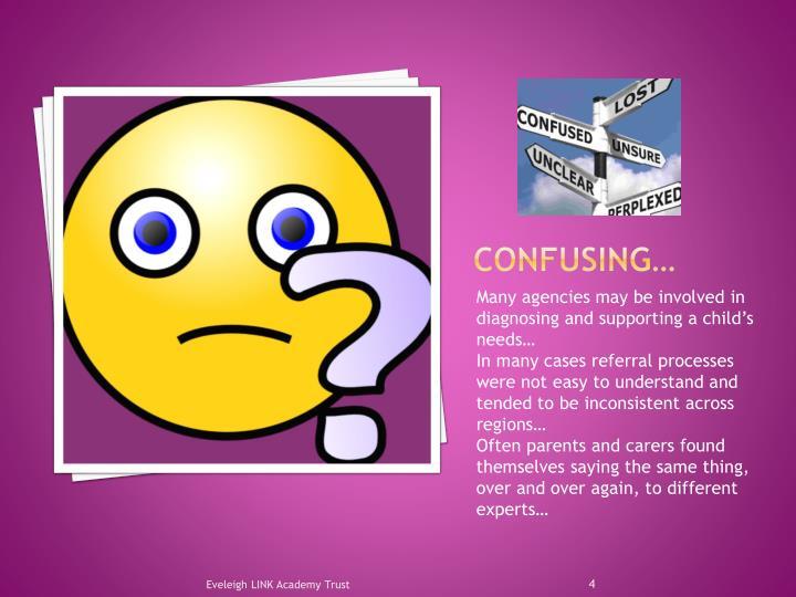 Confusing…