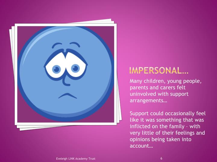 Impersonal…
