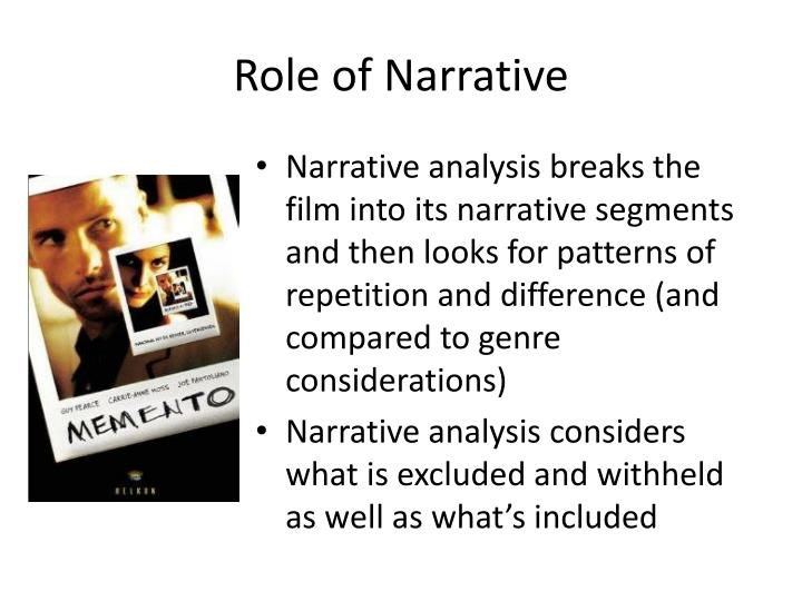 Role of Narrative