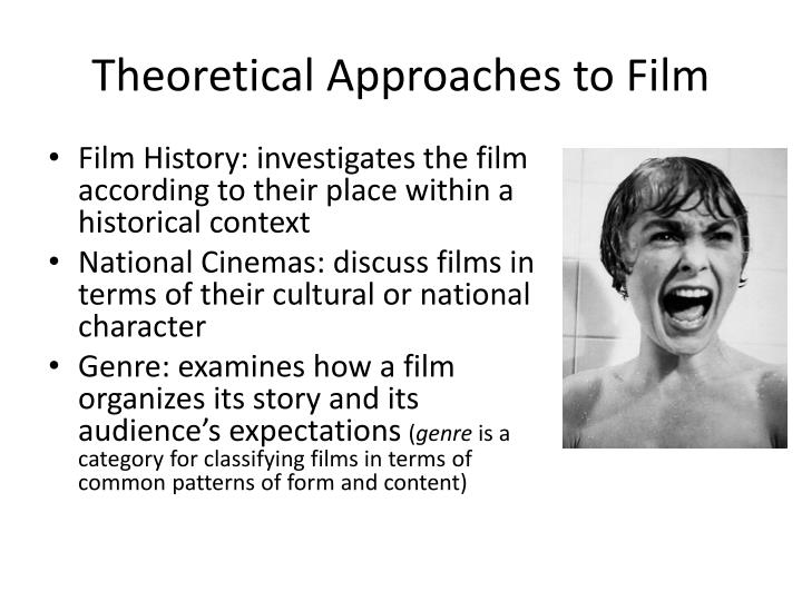 Theoretical Approaches to Film