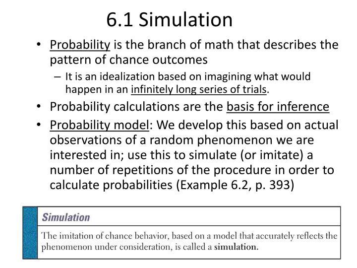 6.1 Simulation