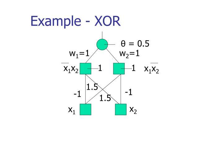 Example - XOR