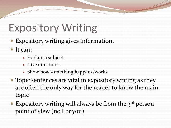 expository essay writing tips A thorough and advisable assistance on writing an expository essay.