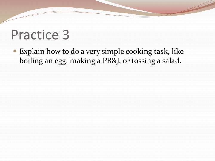 Practice 3