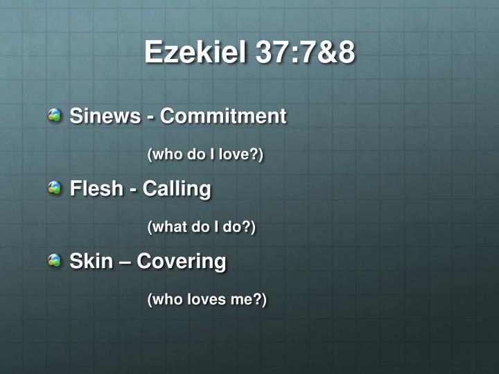 Ezekiel 37:7&8