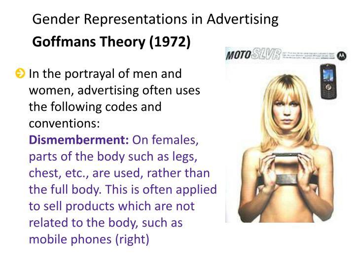 Gender Representations in Advertising