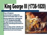 king george iii 1738 1820