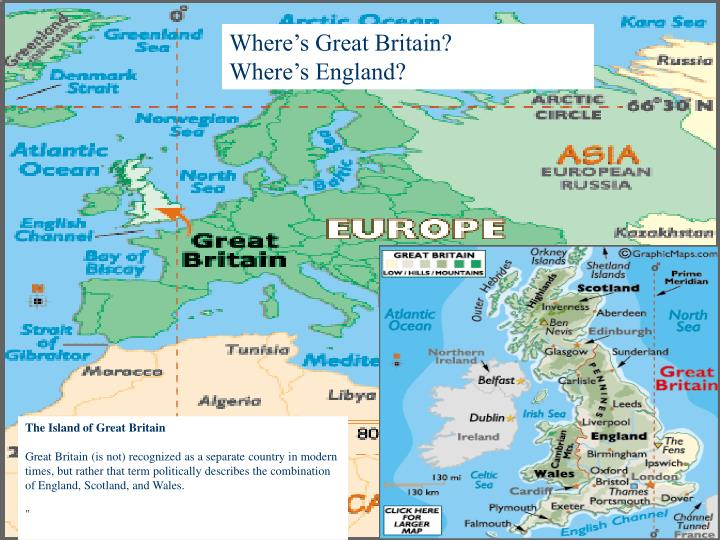 Where's Great Britain?