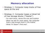 memory allocation2