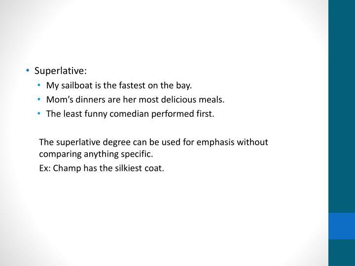 Superlative:
